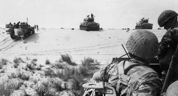 معركة الدبابات في سيناء: جندي واحد يدمر 23 دبابة