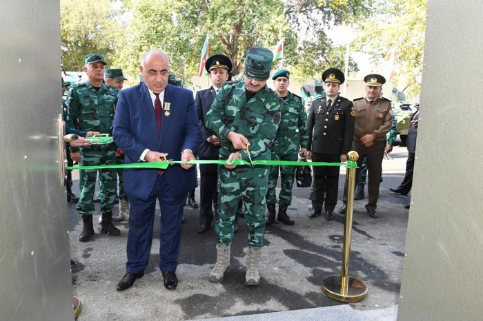 DSX-nin yeni hərbi hissə kompleksi istifadəyə verilib - FOTOLAR