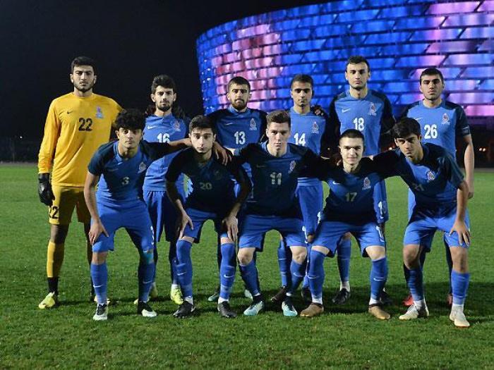 Azərbaycan millisi Çexiyaya uduzdu