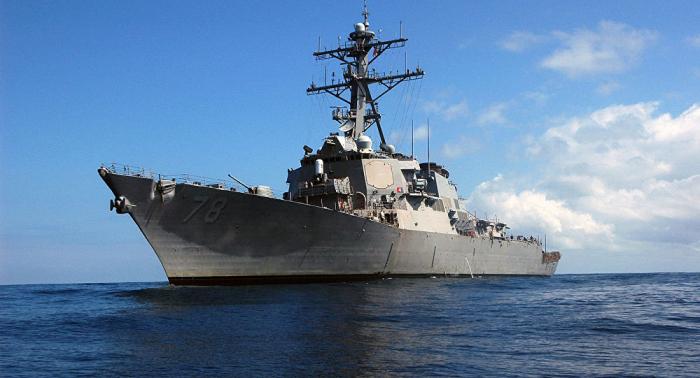 الكشف عن سبب دخول المدمرة الأمريكية إلى البحر الأسود