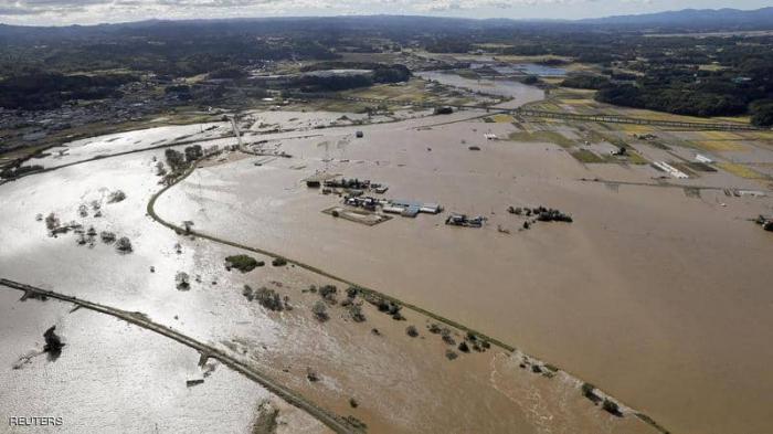 إعصار اليابان.. مروحيات وسفن وآلاف الجنود لانتشال الضحايا