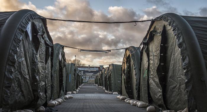 Motines por hacinamiento en campo de refugiados en Lesbos deja al menos dos muertos