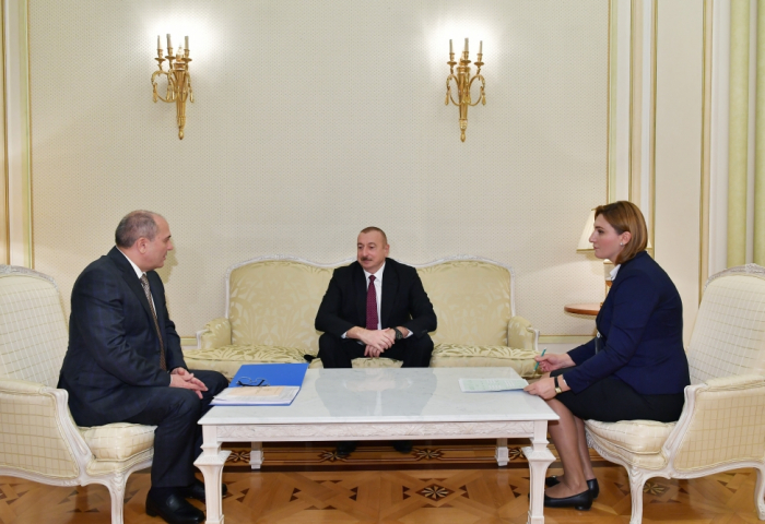 President Ilham Aliyev participated in Azerbaijani census, responded to census survey questions