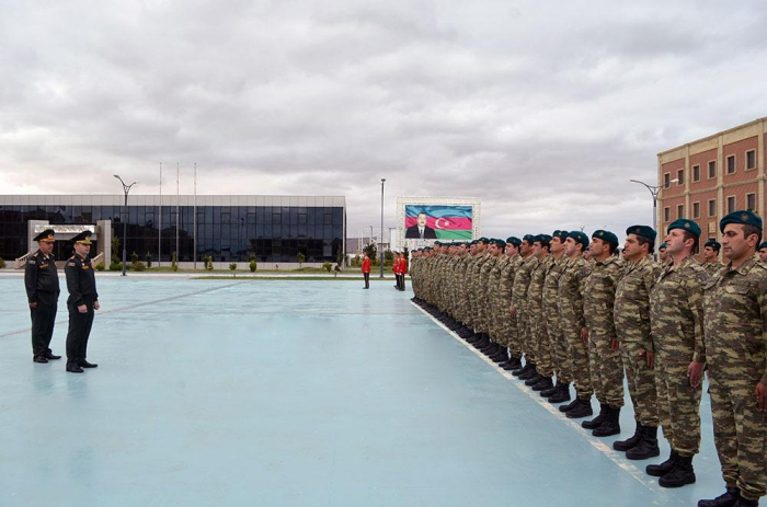 Azerbaijani servicemen return to Baku after Saber Junction - 19 exercises