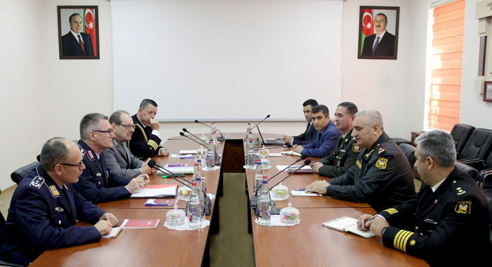 Ministries of Defense of Azerbaijan and Germany discuss military cooperation