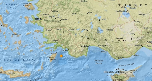 Magnitude 5.0 earthquake shakes Turkey