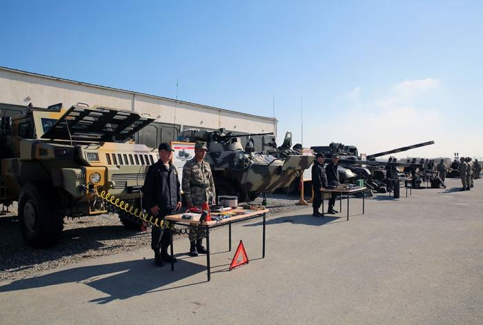 Azerbaijani MoD: Weapons, military equipment transferred into winter operation mode -   VIDEO