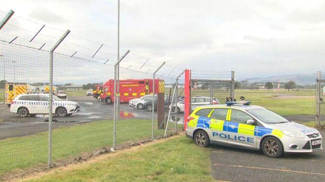 Glasgow Airport alert over