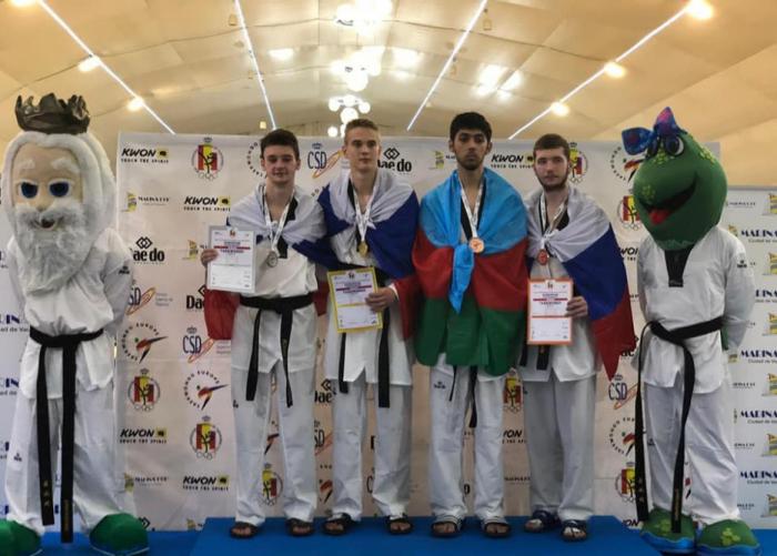 Les taekwondokas azerbaïdjanais ont remporté trois médailles à Marina d'Or