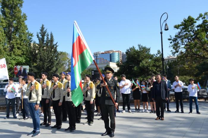 Bakıda çağırışçılar hərbi xidmətə yola salınıb