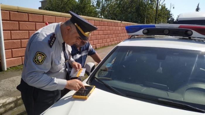 Yol polisi Astarada reyd keçirib
