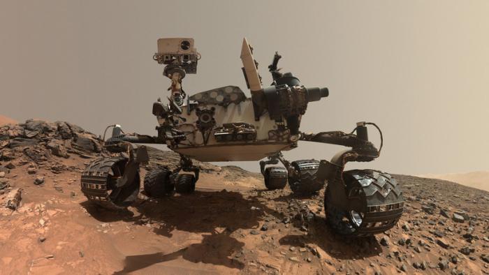FOTOS:   El Curiosity encuentra evidencia de lagos salados en Marte