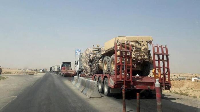 Syrie :   80 camions américains vers la zone occupée par le YPG/PKK