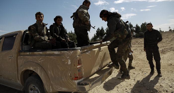 Publican     vídeo     del ataque aéreo de Turquía contra las Fuerzas Democráticas Sirias