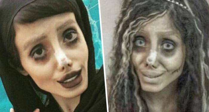 """La """"copia"""" de Angelina Jolie arrestada por comentarios en redessociales"""