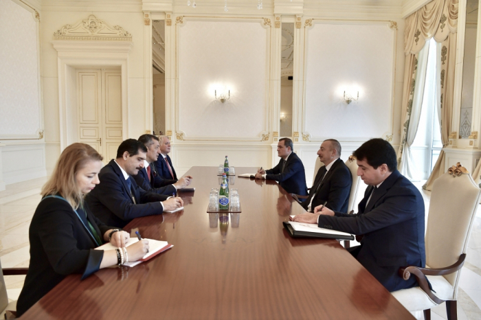 President Ilham Aliyev received delegation led by Turkish minister of national education -   URGENT