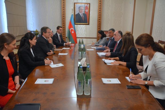 Jean-René Fournier:   les relations azerbaïdjano-suisses se développent au niveau international