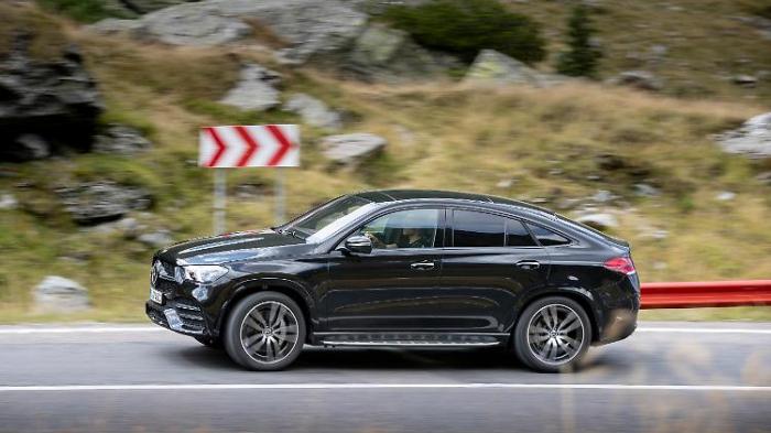 Mitfahrt im neuen Mercedes GLE Coupé