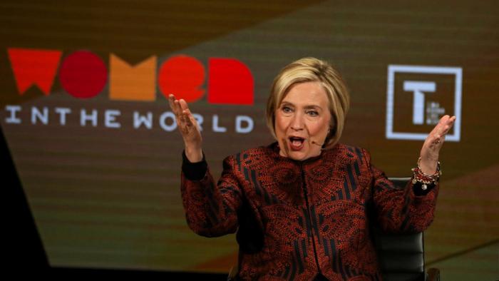 """""""No me tiente""""  : Hillary Clinton amenaza con unirse a la carrera presidencial después de una burla de Trump en Twitter"""