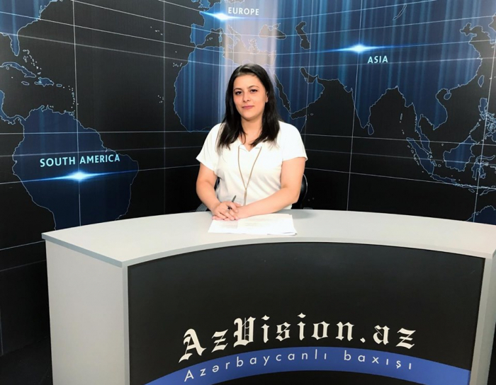 AzVision TV releases new edition of news in English for October 9 -  VIDEO