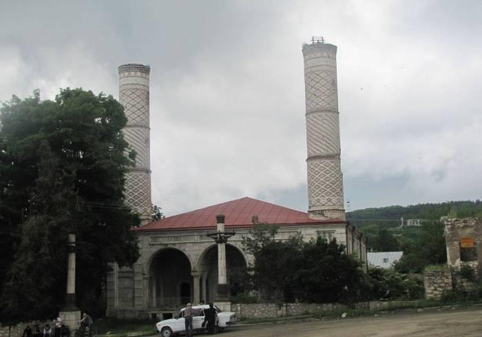 "Azerbaijani community of Nagorno-Karabakh issues statement on ""restoration"" of Yukhari Govhar Agha Mosque by Armenians"
