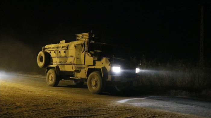 Turkish military hits 181 terror targets in northern Syria