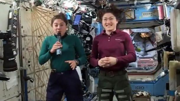 Por primera vez, la     NASA     realizará una caminata espacial con mujeres astronautas