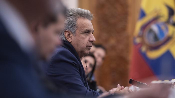 Lenín Moreno explica el traslado del gobierno de Ecuador a Guayaquil y acusa de nuevo a Correa