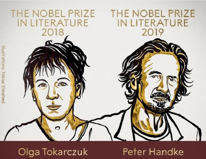 Ədəbiyyat üzrə Nobel mükafatları verildi