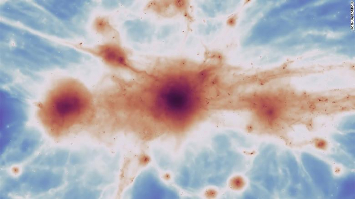 Astronomers discover strands of the cosmic web that held the early universe together