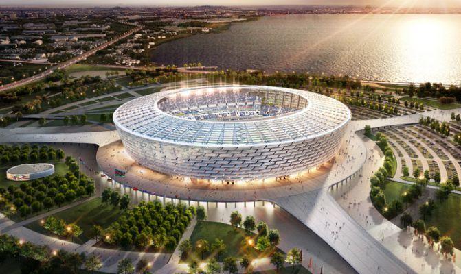Baku Olympic Stadium in TOP-5 biggest arenas in ex-USSR states at Euro-2020