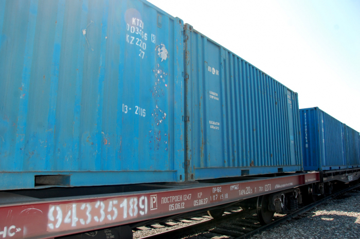 700,000 tons of Russian cargo transported along Azerbaijani railways in Jan.-Sept. 2019