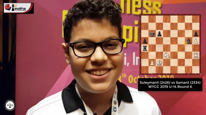 14 yaşlı şahmatçımız dünya çempionu olub