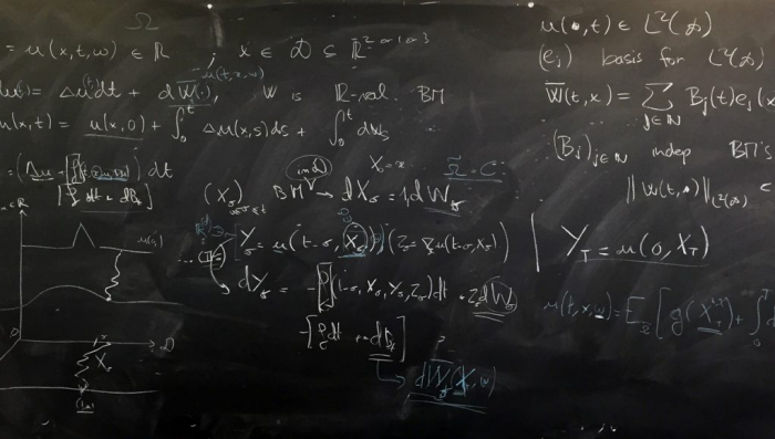 Why mathematicians just can't quit their blackboards-  iWONDER