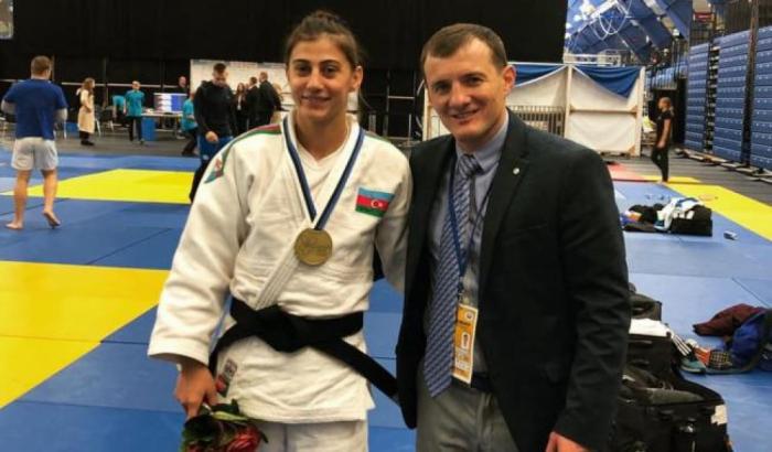 Cüdoçumuz Tallində bürünc medal qazanıb