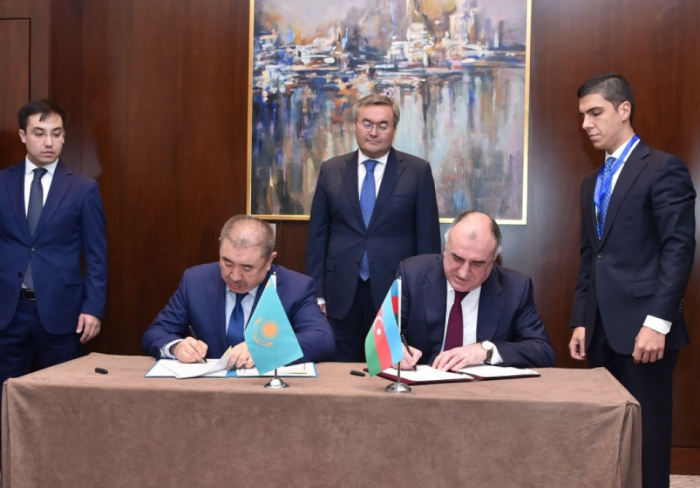 Azerbaijan, Kazakhstan hail bilateral relations