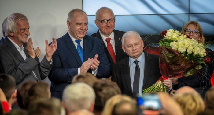 Polens Regierungspartei PiS gewinnt Parlamentswahl – Exit-Polls