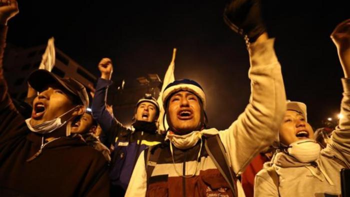 El Gobierno de Ecuador y los indígenas llegan a un acuerdo para derogar el decreto 883