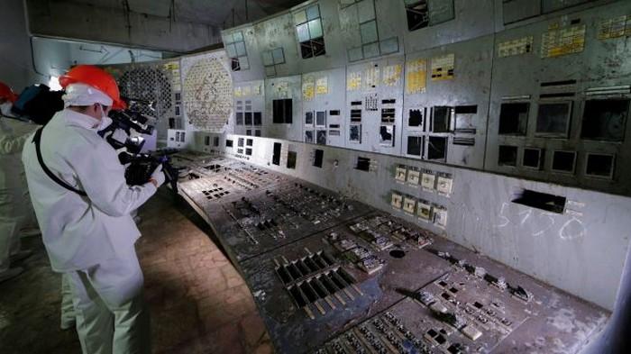 La salle de contrôle de Tchernobyl est désormais accessible au public durant 5 minutes !
