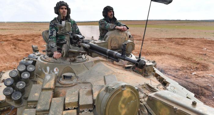 Syrische Armee marschiert in Tell Tamer ein