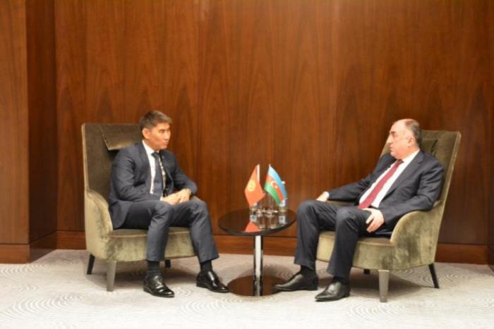 Außenminister trifft kirgisischen Amtskollegen
