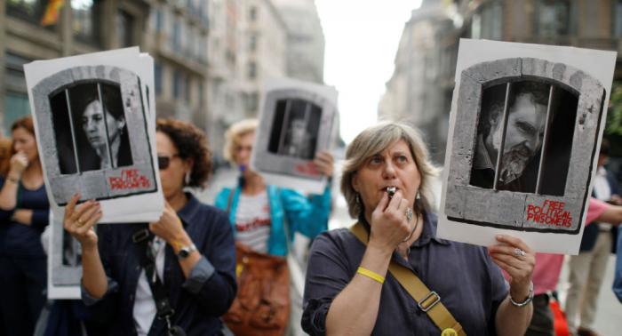 Barcelona se sumerge en protestas por el resultado del procés