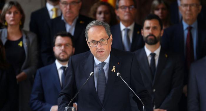El Gobierno catalán reacciona a la sentencia del Supremo