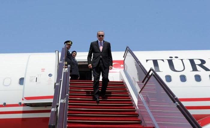 Erdogan kommt nach Baku, um am Gipfeltreffen des Türkischen Rates teilzunehmen