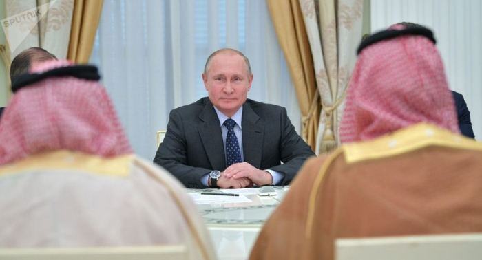 Putin llega a Arabia Saudí en visita oficial
