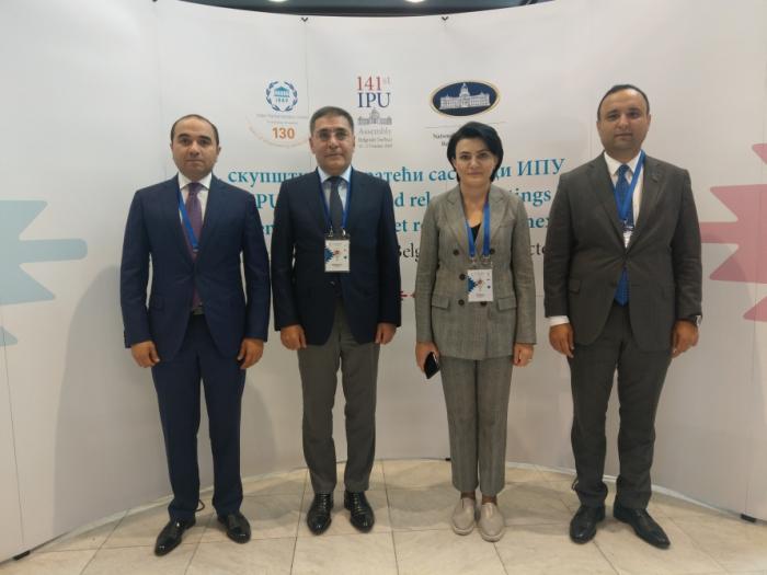 Delegación de Milli Majlis participa en la 141ª Asamblea de la Unión Interparlamentaria