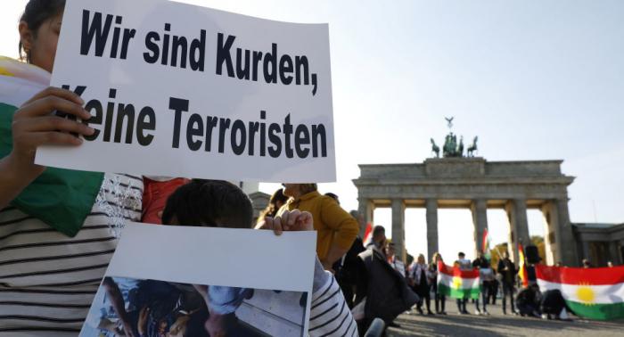 Protesta kurda contra ofensiva turca se salda con cinco heridos en Alemania