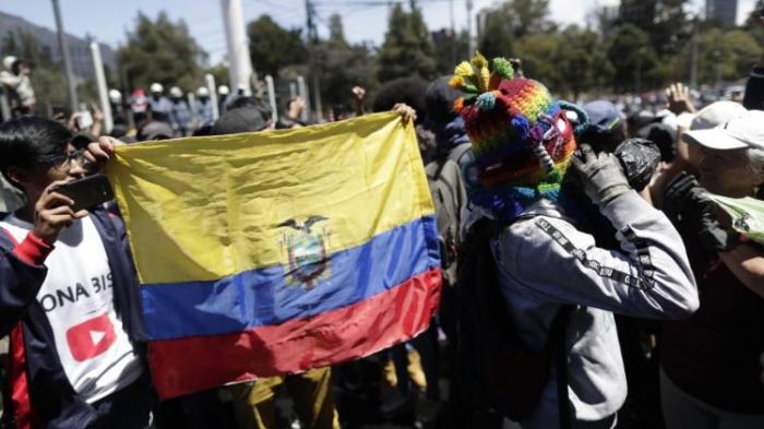 Le lourd bilan de la crise en Equateur:  8 morts, 1340 blessés