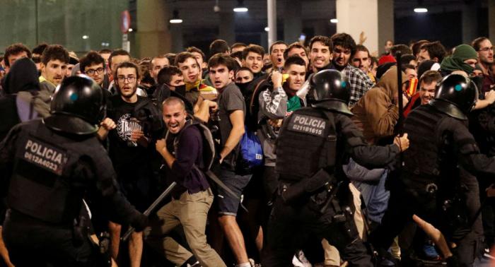 Máxima tensión en Barcelona tras la sentencia del