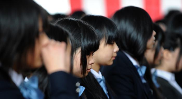 Les enfants japonais champions de la santé grâce au déjeuner scolaire